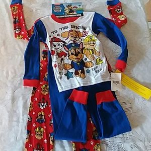 NWT puppy pal pajama outfit . 2 pairs